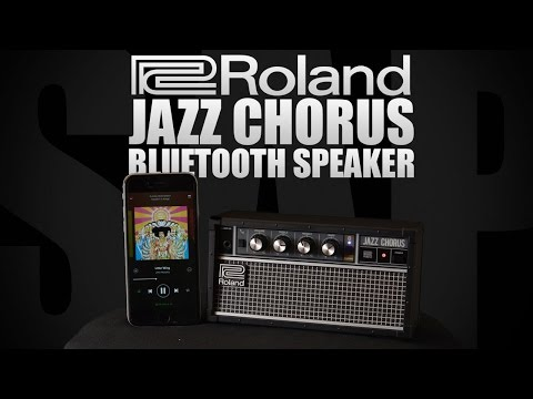 Roland JC-01 Bluetooth Jazz Chorus Audio Speaker