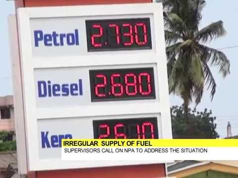 ERRATIC  SUPPLY OF FUEL HITS ACCRA