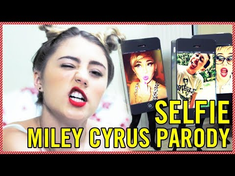 LIA MARIE JOHNSON - WE CAN'T STOP (TAKING SELFIES) MILEY PARODY