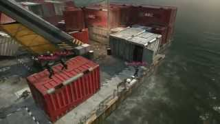 On Top Of Cargo Crates (New Glitch) Black Ops 2 Glitches