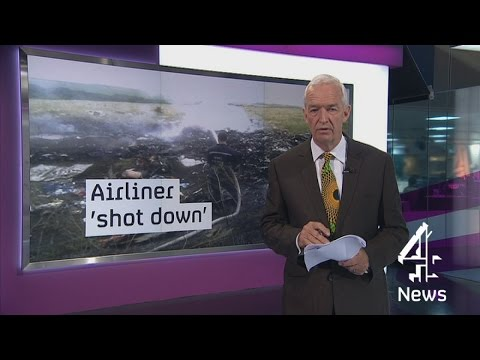 Malaysian Airlines flight MH17 shot down in Ukraine?