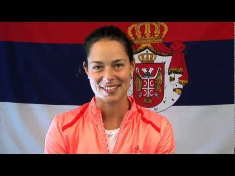 Ana Ivanovic - Serbia  | Tennis Player | London 2012 Olympics