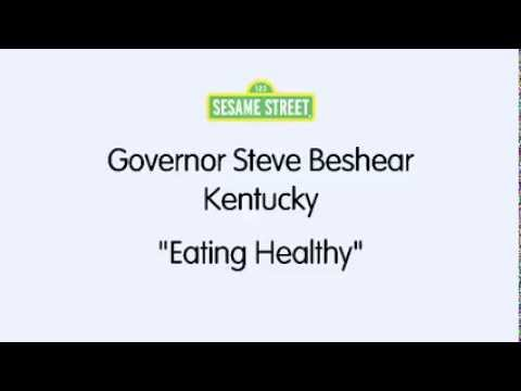 Sesame Street / Governor Steve Beshear : Eating Healthy