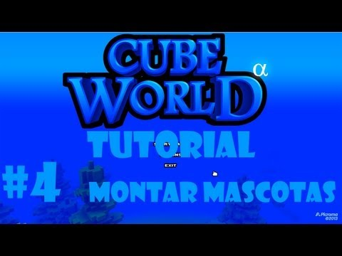 Tutorial Cube World: montar mascotas #4