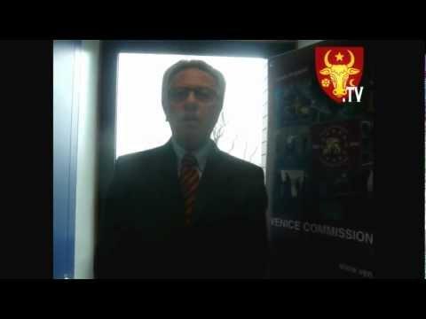 Interview cu Preşedintele Comisiei de la Veneţia