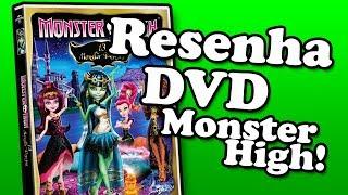 DVD Monster High 13 Monster Desejos
