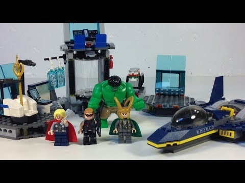 lego avengers how to get to helicarrier
