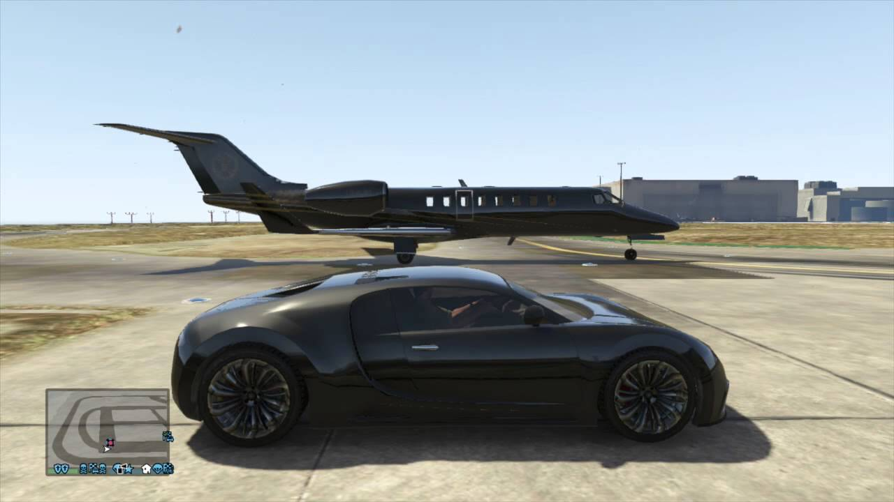 gta v ultimate drag races luxor private jet vs adder bugatti veyron yo. Black Bedroom Furniture Sets. Home Design Ideas