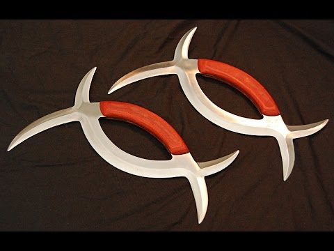 Exotic Weapon, Deadly Sharp Blade - Deer Horn Knives (klingon Pocket Knife), Review and Demo