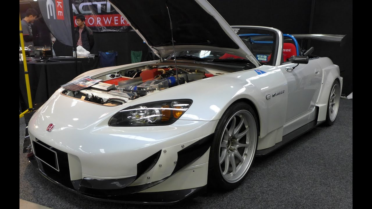 Modified Honda S2000 Ap2 Wide Body Kit And Volk Racing