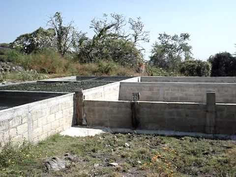 Construcci n de estanque youtube for Construccion de estanques