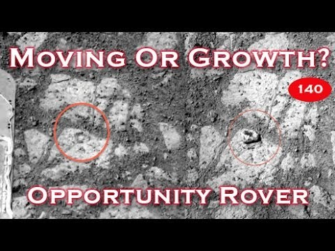 Rocks Moving Or Growing On Mars? NASA Opportunity Rover