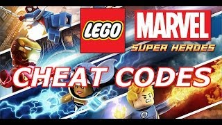 LEGO: Marvel Super Heroes Cheat Codes