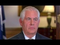 Tillerson: We will know change from N. Korea when we see it