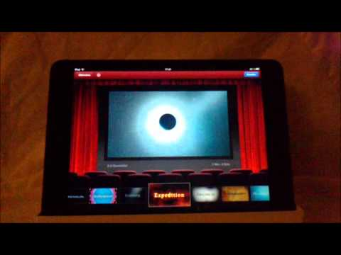 iMovie iPad deutsch: iPad iMovie App