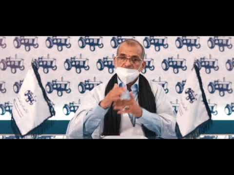 بالفيديو المرشح سيدي محمد سالم الجماني يقدم برنامجه لساكنة العبون