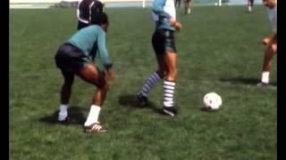 Preparação para o derby lisboeta em 1981/1982