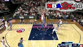 NBA 2K14 My Career Best Game As A PRO