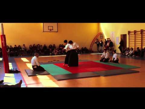 Takemusu Aikido Iwama Ryu- Dimostrazione dell' 8/3/14 - Liceo E. Basile