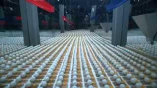 2014 pingpongových loptičiek na myšacích pascách
