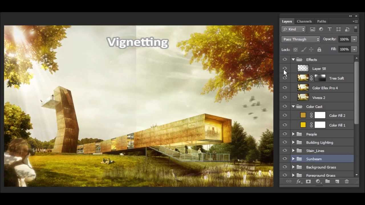 Visualization Post Production - Competition Project