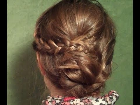 Simple, but Showy Bohemian Updo