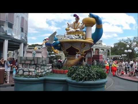 Celebrate A Dream Come True Parade, Magic Kingdom, Walt Disney World HD (1080p)