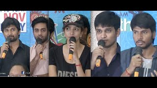 Menu Saitham Press Meet - Sundeep Kishan, Nikhil, Navdeep, Nani, Manchu lakshmi
