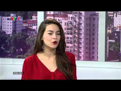 [Cafe sáng vtv3 HD] - Ca sĩ Hồ Ngọc Hà với nghề PR- 28/9/2014