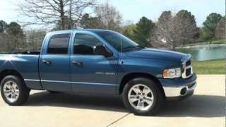 2004 DODGE RAM 1500 SLT QUAD CAB FOR SALE SEE WWW SUNSETMILAN COM videos