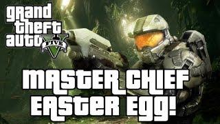 GTA V: Master Chief/Halo Easter Egg!