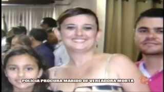 Pol�cia procura assassino de vereadora - Alterosa em Alerta 02/03/15