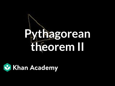 Pythagorean Theorem 2
