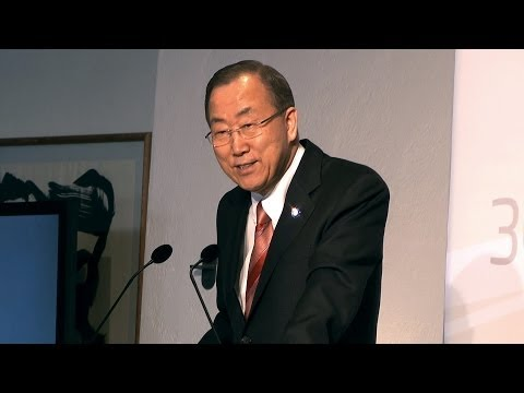 Ban Ki-moon, Secretary General, United Nations - The Global Green Growth Forum - 3GF