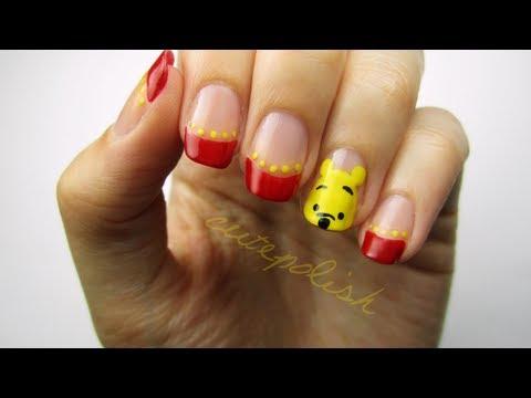 Cute Winnie the Pooh Nails!