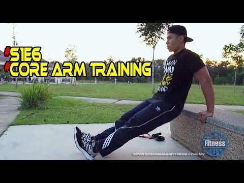 Arm Training Bisep dan Trisep | Outdoor Workout | Strongman Fitness