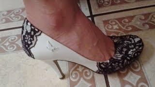 Como decorar zapatillas blancas