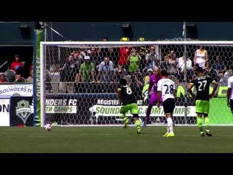 Spurs-Test: Brad Friedel mit Panenka-Elfer düpiert | Seattle Sounders - Tottenham Hotspur 3:3
