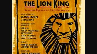 The Lion King Broadway Soundtrack 12. One By One