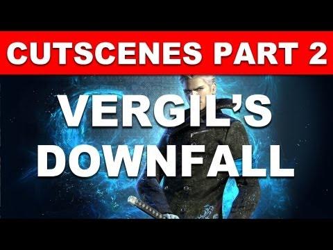 Vergil's Downfall cutscenes Part 2 - All Story Cinematic Cutscenes - DMC Devil May Cry 5 DLC