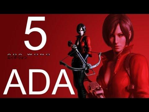 Resident Evil 6 walkthrough - part 5 HD ADA walkthrough gameplay RE6