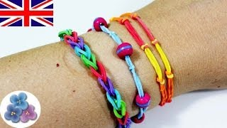 How To Make Bracelets With Your Fingers Rubber Band