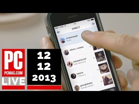 PCMag Live 12/12/13: Instagram Direct & Government Shuts Down Bitcoin Mint