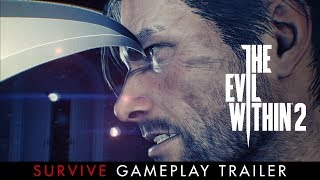 "The Evil Within 2 - ""Survive"" Játékmenet Trailer"