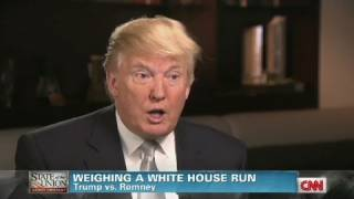 CNN Official Interview: Donald Trump 'Why the country needs him to run'