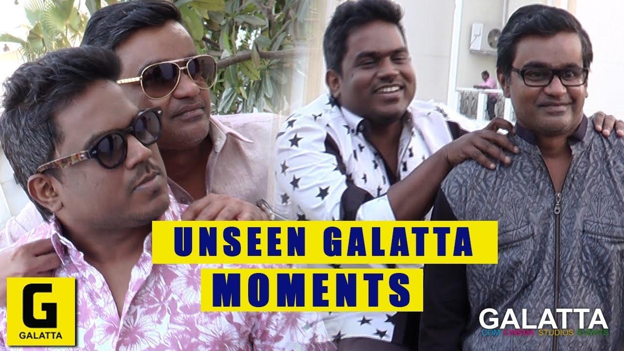 Selvaraghavan and U1 cute friendship   Unseen Galatta moments