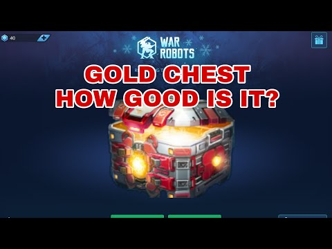 War Robots - Gold Chest How Good Is It?