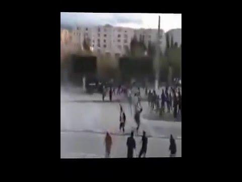 إنتفاضة بالشارع الجزائري