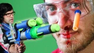 Epic Gun Battle - Rhett & Link
