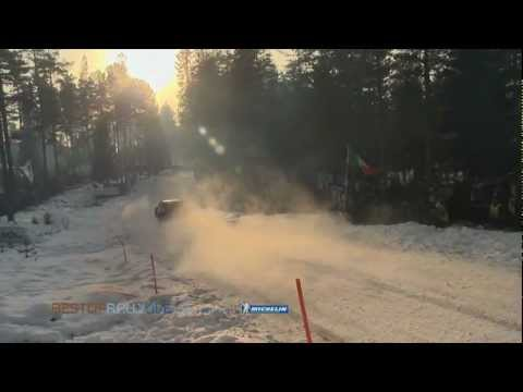 Colin's Crest jump - 2012 Rally Sweden - Best-of-RallyLive.com